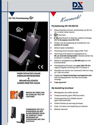 Download DX 703 leaflet